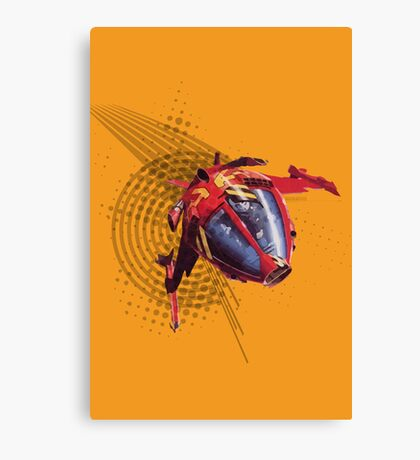 Cybernoid Canvas Print