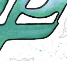 agility. #clary's runes Sticker