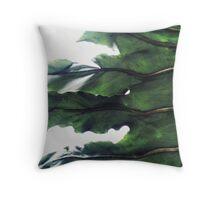 it's a green world Throw Pillow