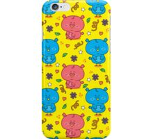 cute colorful owls iPhone Case/Skin