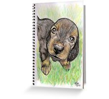 Lil' Pup Greeting Card