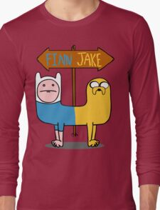 Finn & Jake- CatDog Long Sleeve T-Shirt