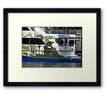Kiwi Cruise Framed Print