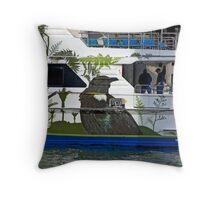 Kiwi Cruise Throw Pillow