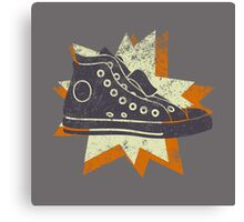 Retro High Tops Canvas Print