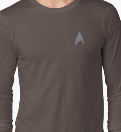 Star Trek Into Darkness Starfleet Command Shirt Long Sleeve T-Shirt