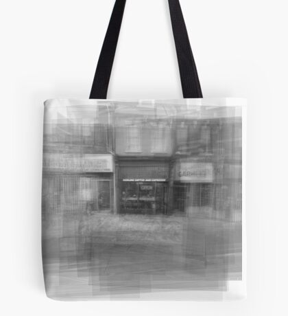 Redline Coffee and Espresso Cafe Streetscape Toronto Tote Bag