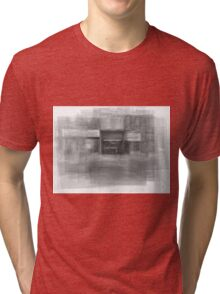 Redline Coffee and Espresso Cafe Streetscape Toronto Tri-blend T-Shirt