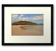 Marble Hill Beach Framed Print