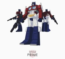 Optimus Prime - (colour) - light T-shirt  by NDVs