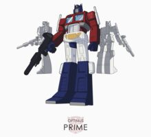 Optimus Prime - (mix) - light T-shirt Kids Clothes