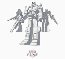 "Optimus Prime - (""model"") - light T-shirt by NDVs"