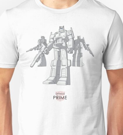 "Optimus Prime - (""model"") - light T-shirt Unisex T-Shirt"
