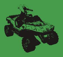 Warthog Halo t shirt by Sam Mobbs