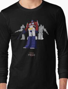 Optimus Prime - (mix) - dark T-shirt Long Sleeve T-Shirt
