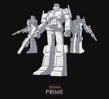 "Optimus Prime - (""model"") - dark T-shirt One Piece - Short Sleeve"
