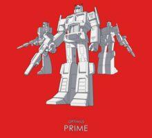"Optimus Prime - (""model"") - dark T-shirt by NDVs"