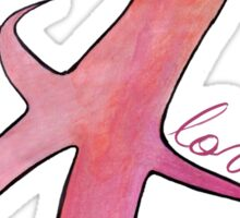 love. #clary's runes Sticker