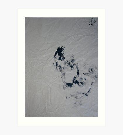 Blind #3 - (blindfolded) - Art Print