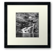 Highlands Waterfalls Framed Print