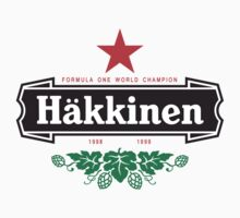 Mika Hakkinen Simple Logo by oawan