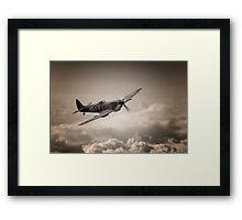 Spitfire Patrol Framed Print