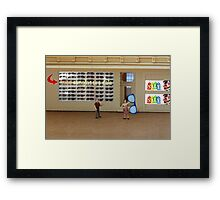 Rich's gift is from the heart but he still doesn't understand the finer points of shopping the sales. Framed Print