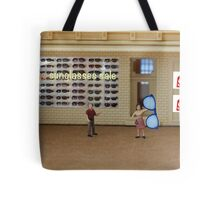 Rich's gift is from the heart but he still doesn't understand the finer points of shopping the sales. Tote Bag