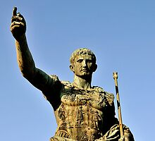 Statue of Augustus, Rome, Italy by buttonpresser