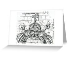 Mosteiro da Batalha sketch Greeting Card