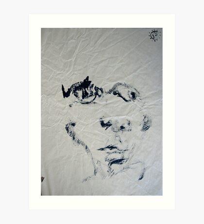 Blind #7 - (blindfolded) - Art Print