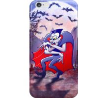 Dracula is Desperately Hungry iPhone Case/Skin