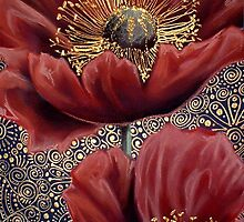 Red Poppies II by Cherie Roe Dirksen