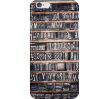 Type Case iPhone Case/Skin