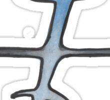 precision. #clary's runes Sticker