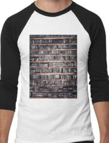 Type Case Men's Baseball ¾ T-Shirt