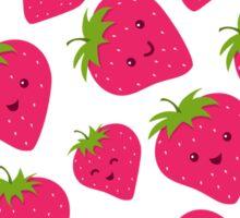 Strawberries Fun Forever! Sticker