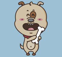 kawaii puppy Kids Tee