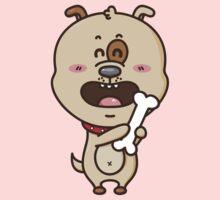 kawaii puppy One Piece - Short Sleeve