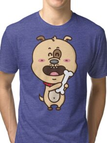 kawaii puppy Tri-blend T-Shirt