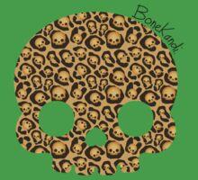 Bone Kandi - Leopard Print /light/ One Piece - Short Sleeve