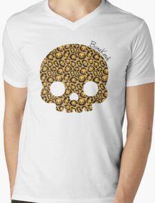 Bone Kandi - Leopard Print /light/ Mens V-Neck T-Shirt