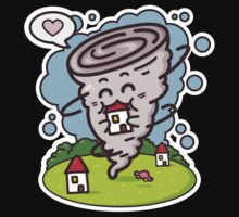 kawaii tornadoes Kids Clothes