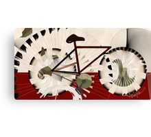 Cyclostract: Bikes without Boundries Canvas Print