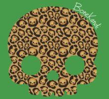 Bone Kandi - Leopard Print /dark/ Baby Tee
