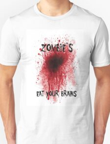 Zombies: Eat Your Brains T-Shirt