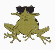 Cool frog Baby Tee