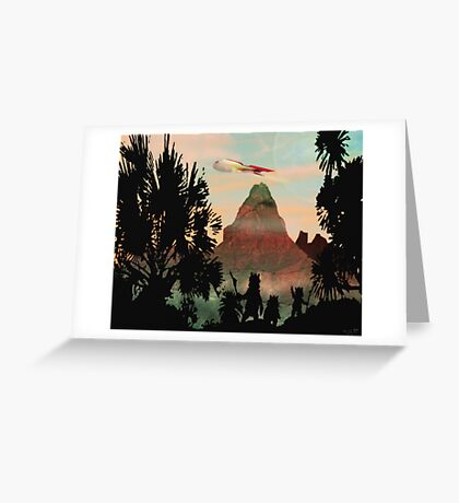 Zarathustra a Fuzzy Dream Greeting Card