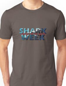 Shark Week!! Stay Out Of The Water!! Unisex T-Shirt