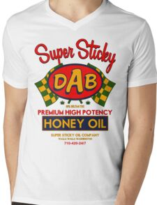 DAB-Honey oil-3 Mens V-Neck T-Shirt